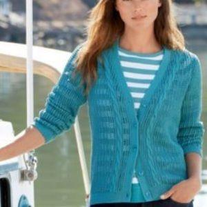 🦚 Pendleton teal cardigan sweater